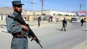 Afghan Voters Turn Up At Polls In Defiance Of Election Day Attacks [Video]