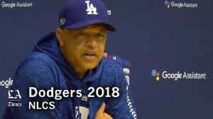 Dave Roberts talks Walker Buehler and Clayton Kershaw pitching in NLCS Game 7 [Video]