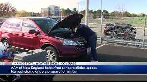 AAA of New England provides free car care clinics for drivers preparing for winter [Video]