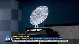Coaches trophy on display this weekend for Badgers fans [Video]