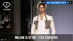 Les Copains Presented at Milan Fashion Week Spring/Summer 2019 | FashionTV | FTV [Video]