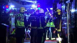 Woman found dead after 'gas explosion' rips through flat [Video]