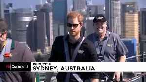 Prince Harry and Australian PM scale the Sydney Harbour Bridge [Video]