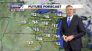 Mostly sunny, breezy and chilly Sunday [Video]