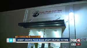Harry Chapin food bank staff helping Hurricane Michael victims [Video]