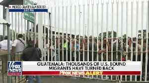 REPORT: Migrant Marcher Numbers On Way To USA Border Have Dwindled In Size [Video]