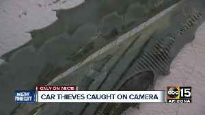 Ahwatukee couple wakes to thieves trying to steal SUV overnight [Video]
