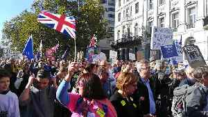 Crowds young and old march for 'final say' on Brexit under London sun [Video]