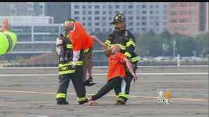 Several Agencies Participate In Hazmat Drill At Boston's Logan Airport [Video]