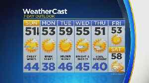 Chilly Breeze On Tap For Sunday [Video]