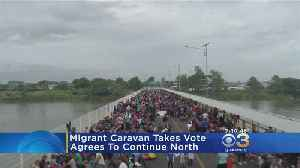 Nearly 2,000 Central American Migrants Head North Towards US [Video]
