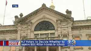 NJ Voters To Decide Whether To Approve $500 Million In Bonds For Schools [Video]