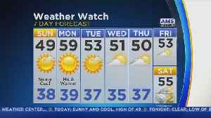 CBS 2 Weather Watch Forecast, Oct. 21, 2018 7 AM [Video]