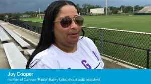 Video: Joy Cooper, talks about son Darvion 'Pink' Bailey's comeback from auto accident [Video]