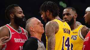 News video: Chris Paul, Rajon Rondo Throw Punches in Brawl, Get Ejected