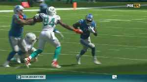 Dolphins Defense Can't Stop Detroit In 32-21 Loss At Hard Rock Stadium [Video]