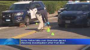 Man Dies After Officer-Involved Shooting In Brockton [Video]