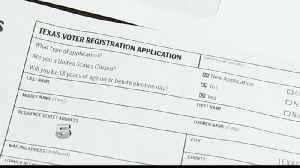 Voter Registration Letters Causing Confusion among Local Residents [Video]