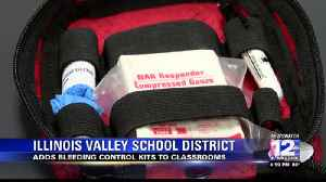 Illinois Valley Adds Bleeding Control Kits to Classrooms [Video]