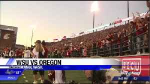 WSU defeats Oregon 34-20 in Pullman [Video]