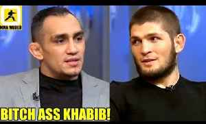 I've never lost my belt I'm still UFC 155lbs Champ and Khabib should be the interim Champ,UFC Russia [Video]