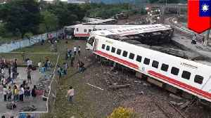 Taiwan train derailment leaves at least 18 dead [Video]