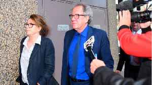 Geoffrey Rush Talks About Allegations Against Him [Video]