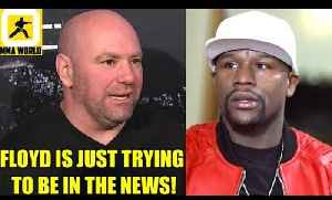 UFC has never talked to Floyd Mayweather's Team regarding a Khabib boxing bout,DC on Lewis [Video]
