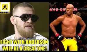 Anderson Silva agrees to fight Conor McGregor in a Catchweight 180lbs fight,DC on Khabib [Video]