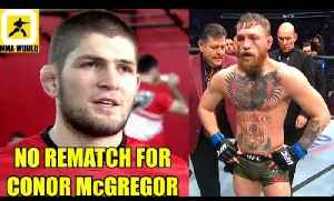 Khabib has already turned down an offer for $15 Mill. for rematch with Conor McGregor,Nate-Poirier [Video]