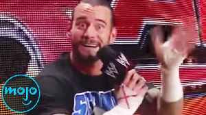 Top 10 Greatest Unscripted Moments In WWE [Video]