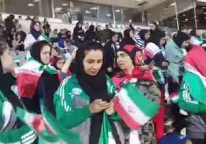 Women Attend Soccer Match in Tehran After Ban on Female Attendance Lifted [Video]