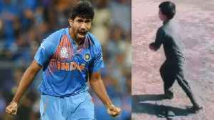Jasprit Bumrah Bowling Action Copy By Five Year Old Pakistani Boy । वनइंडिय&#x93 [Video]