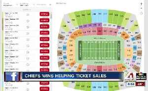 As Chiefs rack up wins, ticket sales (and prices) steadily increase [Video]