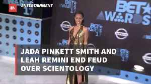 Celebrities End Fight Over Scientology [Video]