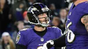 Ravens' Tucker: 'Our stadium is a tough place to kick in'