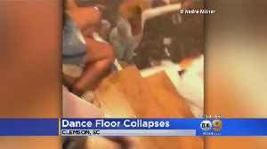 VIDEO: 30 Injured In Floor Collapse At Party Near Clemson University