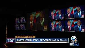 Watch party held at Revolutions in West Palm Beach for Florida governor's debate [Video]