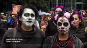 Skeletons run amok as Mexico kicks off the Day of the Dead [Video]