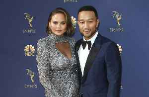 Chrissy Teigen's two-year-old daughter is already a make-up pro [Video]