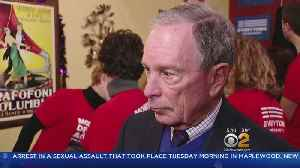 News video: Bloomberg Stokes 2020 Speculation