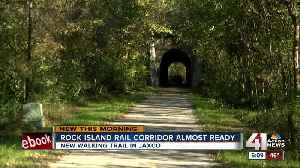 Jackson County to open first phase of Rock Island Rail Corridor trail within next 30 days [Video]