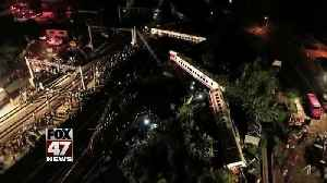 News video: Train derailment: At least 18 dead, 178 injured