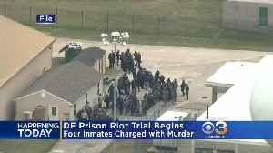 Trial Begins For Inmates Charged With Murder In Delaware Prison Riot [Video]