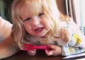 A (Little) Star Is Born - Toddler Delivers Cute Version of Twinkle Twinkle... [Video]