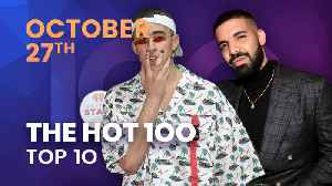 Early Release! Billboard Hot 100 Top 10 October 27th, 2018 Countdown   Official [Video]
