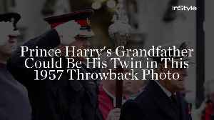 Prince Harry's Grandfather Could Be His Twin in This 1957 Throwback Photo [Video]