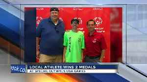 Local Special Olympics athletes wins 2 medals [Video]