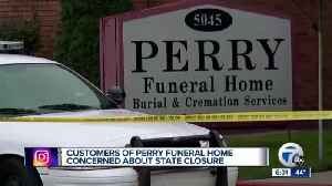 Woman working to get mother's ashes from Perry Funeral Home [Video]