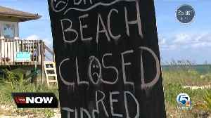 Beaches remain closed in Indian River County due to red tide [Video]